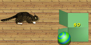 Cat Box Bowling hra
