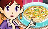 Chicken Fettuccine: Saras Cooking Class hra