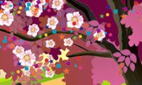 Create Your Blossom Tree hra