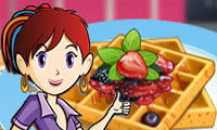 French Waffles: Saras Cooking Class hra