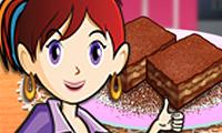 Saras Cooking Class: Caramel Brownie hra